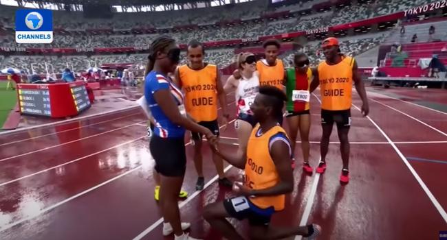 Paralympics: Athlete Gets Surprise Proposal After Race