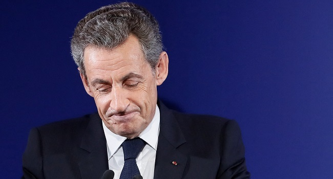 Ex-France President Sarkozy Sentenced To Jail For Illegal Campaign Financing