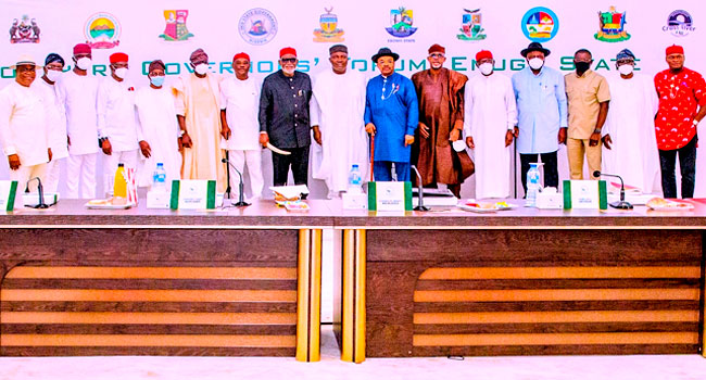 Southern Governors Back VAT Collection By States, Zoning Of 2023 Presidency To South
