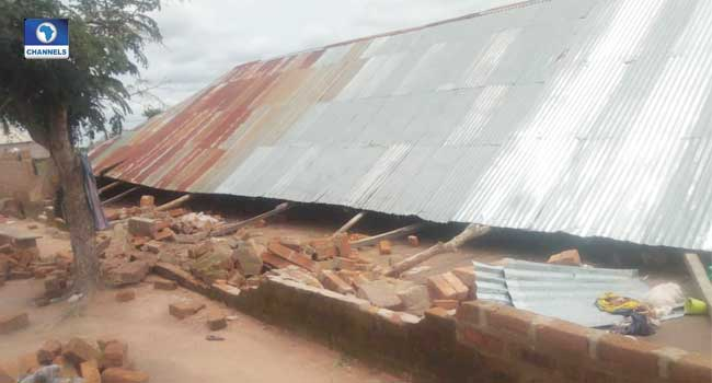 Two Killed As Church Collapses In Taraba