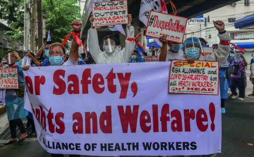 'Burnt Out': Philippine Nurses Battle COVID-19, Resignations