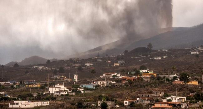 Volcano Destroys 320 Buildings On Spanish Island
