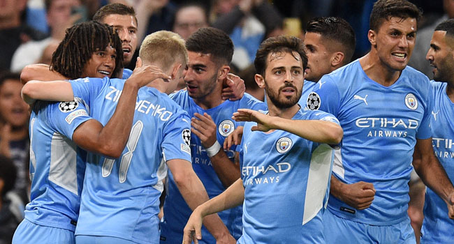 Man City Hit Leipzig For Six In Champions League