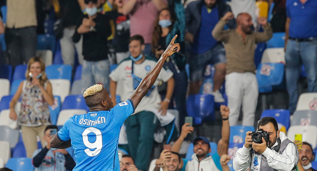 Serie A: Osimhen Shines Again, Scores Fourth League Goal