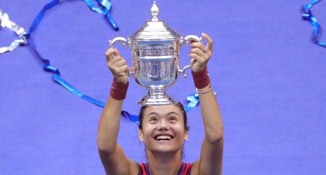18-Year-Old Raducanu Wins Women's 2021 US Open