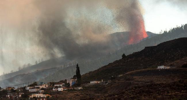 Volcano Destroys 100 Homes In Spain