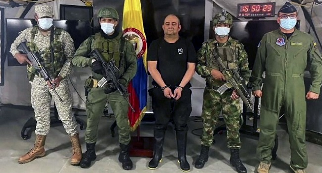 Colombia To Extradite Drug Lord 'Otoniel' To US