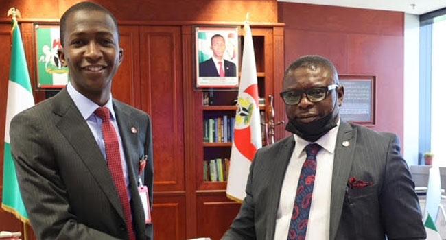 EFCC's New Secretary Ekpungu Assumes Office