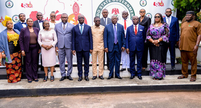 Obaseki Swears In 11 Commissioners, Two Special Advisers