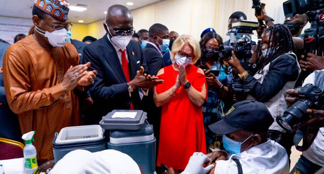 Lagos Fears Possible Fourth COVID-19 Wave, Launches Mass Vaccination Programme