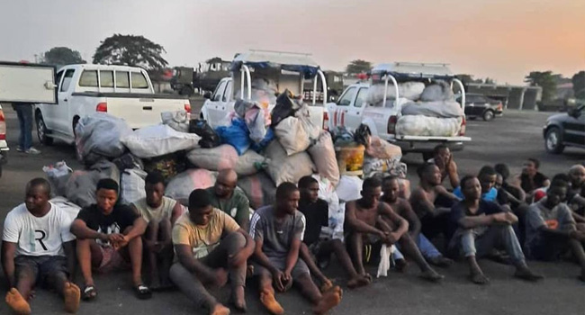 Fake Policeman, Soldier, 661 Others Arrested As NDLEA Raids Notorious Drug Joints