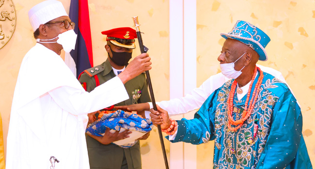 Buhari To Ogoni Leaders: Sensitise Indigenes On Value Of Protecting Pipelines, National Assets