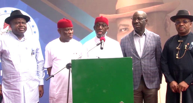South South Governors To Launch Regional Security Outfit