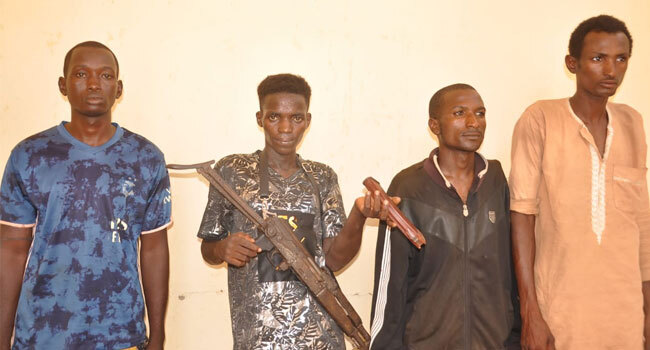 Police Nab Four Suspected Kidnappers In Adamawa