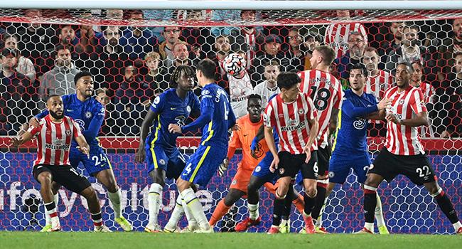 Mendy Shines Against Brentford As Chelsea Go Top Of Premier League