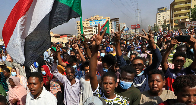 Soldiers Open Fire On Protesters In Sudan After Military Coup