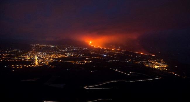 Volcanic Ash Halts Flights On Spanish Island