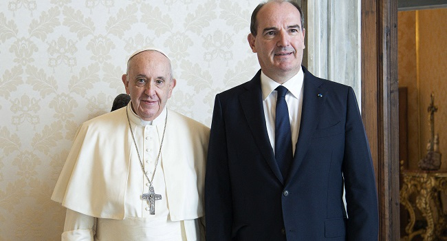 French PM Meets Pope As Abuse Scandal Rages