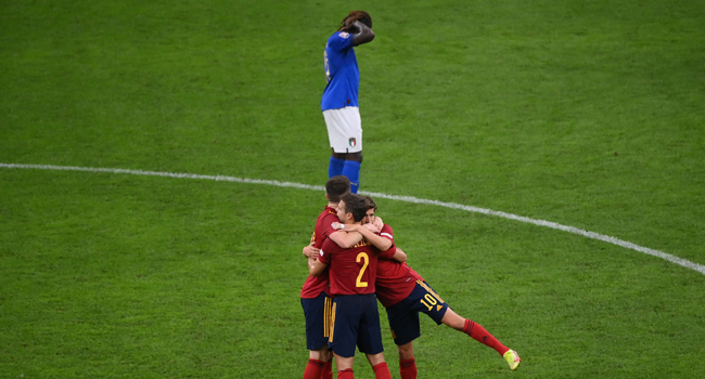 Spain Ends Italy's Unbeaten Run, Reach Nations League final