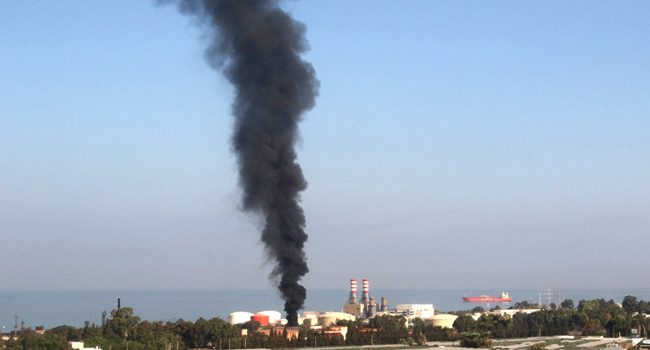 Fire Breaks Out At Lebanon Fuel Storage Facilities