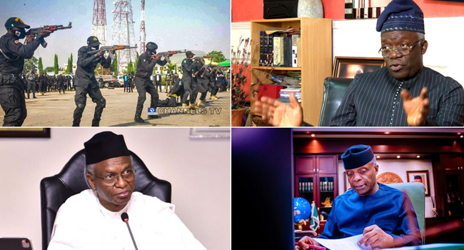 'Banning #EndSARS Protests Is A Gross Infringement Of Nigerians' Rights' – Weekly Quotes